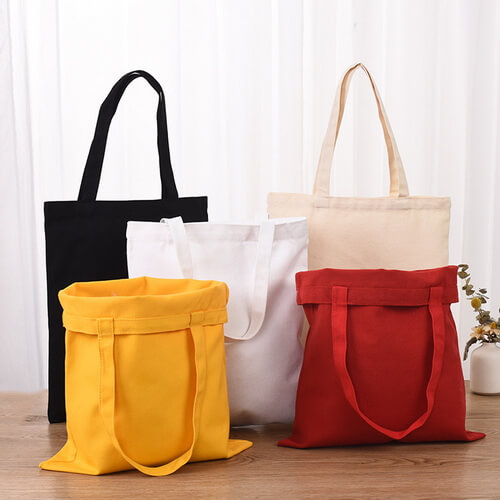 plain cotton tote bags wholesale