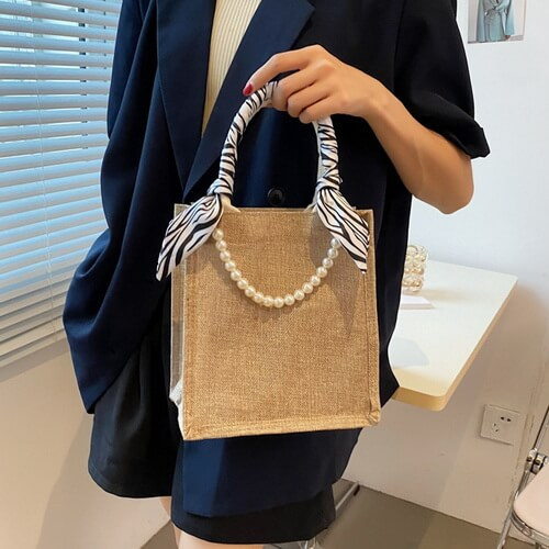 small size jute tote bags wholesale