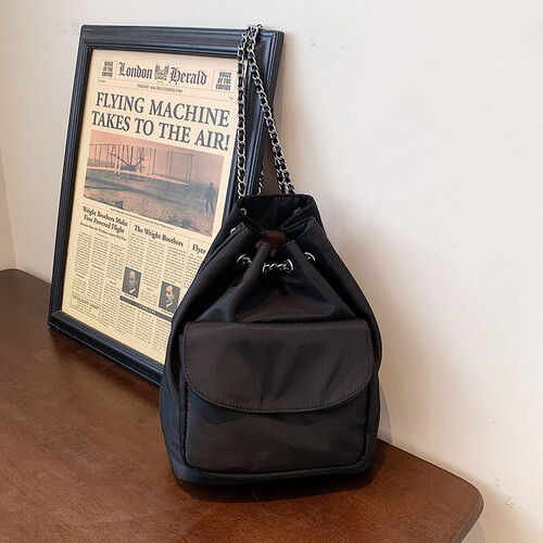 Wholesale Personalized Mini Drawstring Backpack Purse