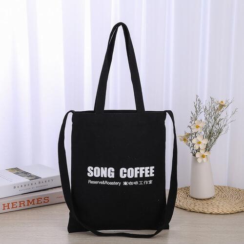 black canvas tote bags bulk