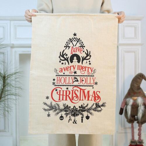 christmas jute bags wholesale