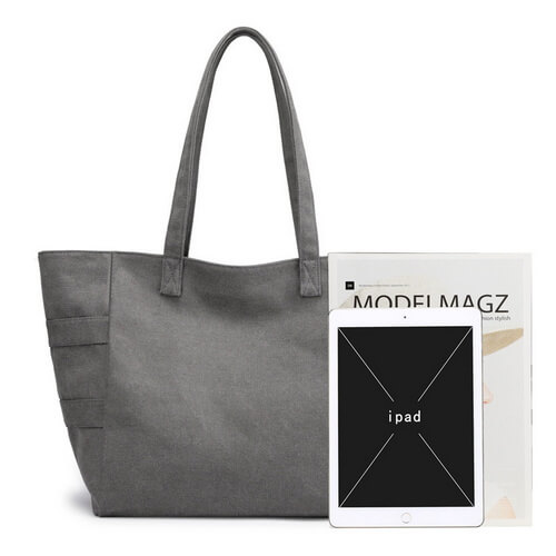 custom large canvas tote bags wholesale