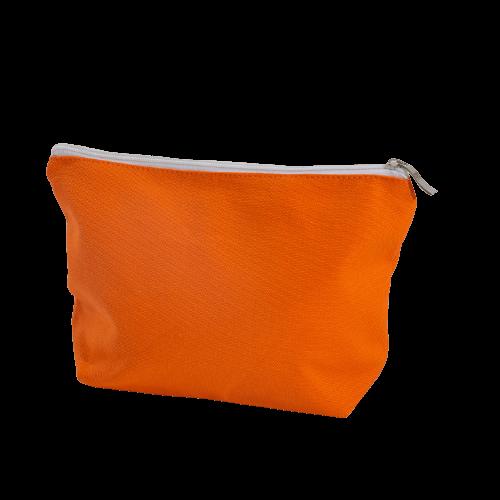 orange cotton cosmetic bags wholesale