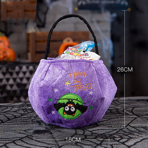 purple Personalized Halloween Buckets Wholesale