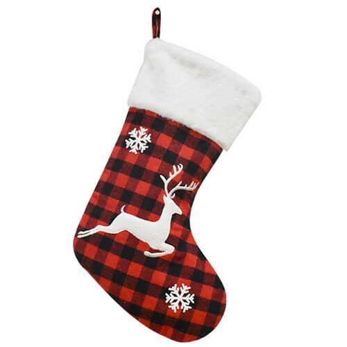 Buffalo Plaid Christmas Stockings wholesale