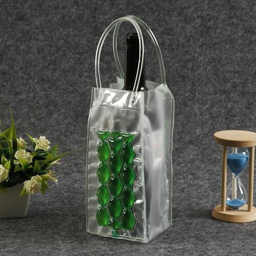 Plastic Clear Gel Wine Cooler Bags Wholesale