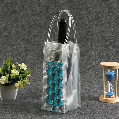 blue gel cooler wine bags wholesale