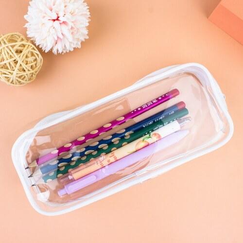 clear pencil pouch bulk