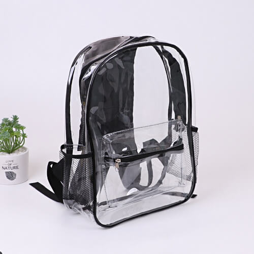 custom clear backpacks wholesale