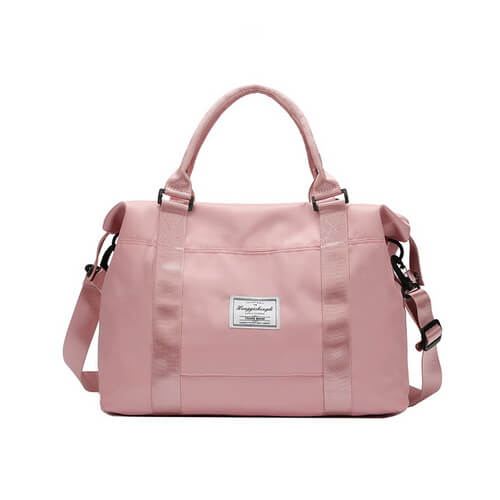 custom pink duffle bags bulk