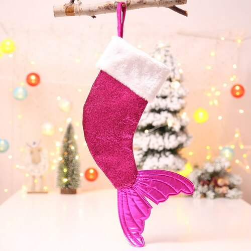 mermaid christmas stocking wholesale