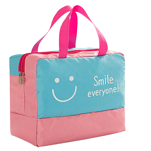 pink buk Nylon Large Beach Bags Wholesale for Vacation