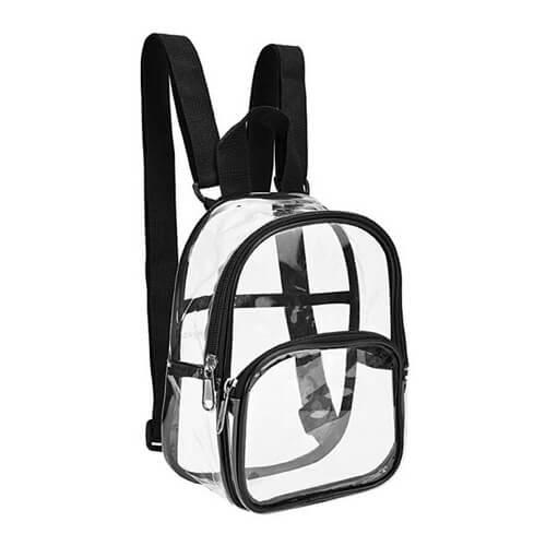 clear mini backpack bulk
